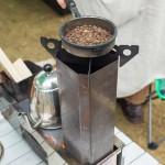 コーヒー焙煎の体験