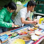 香川のカヤックガイド「フリークラウド」は、ホットサンド体験販売