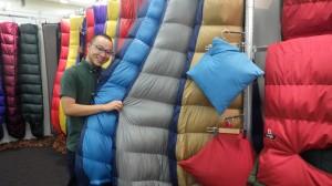 ナンガ定番寝袋オーロラシリーズに、新色が。