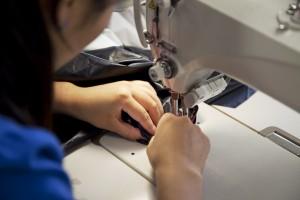自社工場での製造により、こだわりを製品にできる。改良や修理など、小回りもきく。