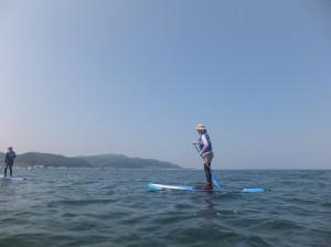 津軽半島と下北半島に囲まれた陸奥湾は、波の静かな日が多い。イルカが多い海域でもある。