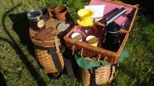 カヌー旅だけじゃなく、冬の陽だまりでコーヒーを飲むときも。