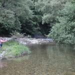 テンカラロッドを手に、川へ浸透してみれば……
