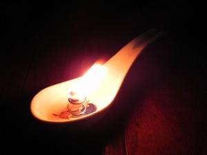 レンゲ・ランプ! これがいちばん気に入っている。