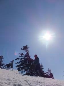 雪に覆われた景色の中を歩くことこそ、ぼくが欲していたことだ。